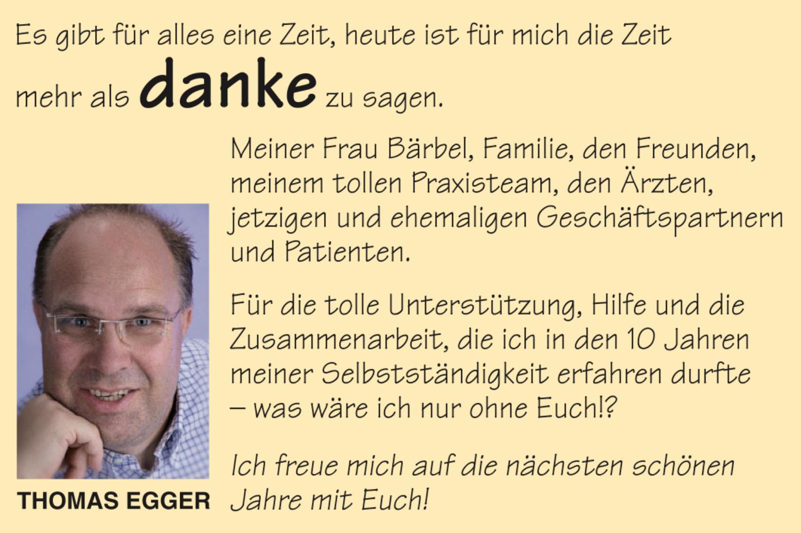 Brief Für Zusammenarbeit : Thomas egger sagt danke bilder fotos galerie
